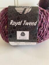 """250(300g) Lana Grossa """"Royal Tweed"""" 066 Merino Wolle Stricken Häkeln Garn"""
