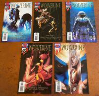 lot of 5 Wolverine Vol 3. VF - NM 36 37 38 39 40 Marvel Comics origins & endings