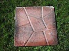 Concrete heavy plastic reusable paver stepping stone mould mold