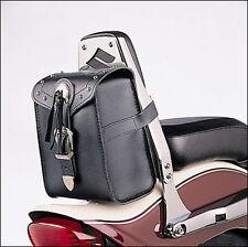 Leder-Tasche für Sissy-Bar Suzuki Intruder M800 mit Nieten