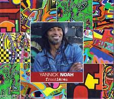 CD audio.../...YANNICK NOAH.../...FRONTIERES.....