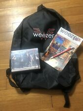 Weezer 2018 Vip Tour Backpack with Vip goodies