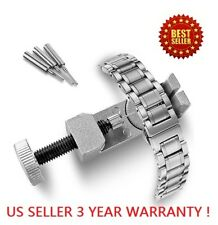 Metal Link Pin Remover Adjuster Watch Band Bracelet Strap Free Parts Repair Tool