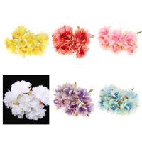 Artificial 60-Head Chrysanthemums Silk Flower Bouquet Plant Wedding Decor