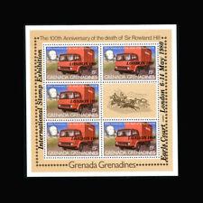 Grenada Grenadines, Sc #388, MNH, 1980, S/S, Mail Truck, Stamp Expo, TR031F