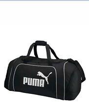 PUMA Large Athlete Team Duffle Bag Shoulder Strap & Easy Carry Holdall Handles UK