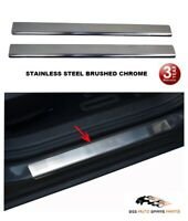 MERCEDES VITO W447 CHROME METAL DOOR SILL PLATE PROTECTOR COVER STAINLESS STEEL