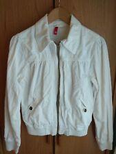 Cazadora pana blanca mujer, de H&M talla 36