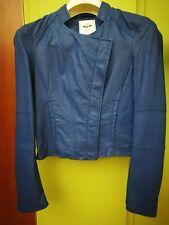 Giubbino giubbotto giacca taglia XS silvian heach colore blu