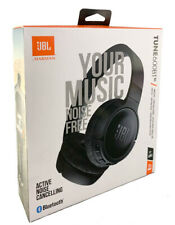 JBL TUNE 600BTNC Wireless Bluetooth On-Ear Noise Cancelling Headphones - Black