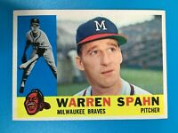 LA4475  1960 Topps #445 Warren Spahn Milwaukee Braves