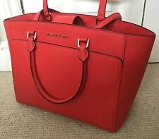Michael Kors Large Tote, Mandarin Saffiano Leather, SUPERB CONDITION