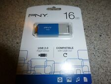 16 GB PNY Flash Drive (NEW) (Blue)