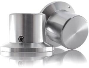 Hifi Lab Poti-Knopf Drehknopf Aluminium massiv Potentiometer Knopf 36x26x26