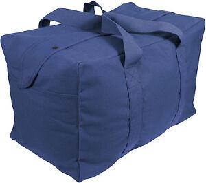 Canvas Cargo Bag Tactical Heavy Duty Cotton Large Military Parachute Duffle