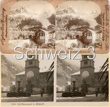 18 STEREOFOTOS SCHWEIZ SCHWITZERLAND SWISS Serie 3