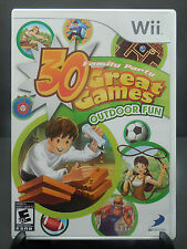 FAMILY PARTY 30 GREAT GAMES - OUTDOOR FUN (Nintendo Wii) - VIDEO GAME FREE SHIP