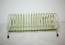"""Green Metal 17 CD Round Holder Organizer Storage Rack Desk Tabletop 12""""x5 1/4"""""""