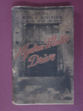 1947 1948 PONTIAC HydraMatic Drive Transmission Manual, Good Condition 188 pgs