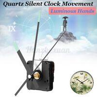Luminoso Manos Quartz Silent Clock Movimiento Mecanismo Reparación Tool DIY Kit