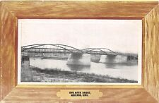 D19/ Marengo Iowa Ia Postcard c1910 Iowa River Bridge