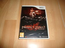 Nintendo Wii PAL version Project Zero 2