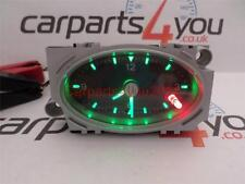FORD MONDEO MK3 01-07 BLACK FACED GREEN & RED LED TIME CLOCK + FREE UK POSTAGE