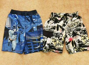 Boys Pack Of 2 Swimming Shorts 3-4 Years