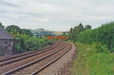 PHOTO  FOURSTONES RAILWAY STATION NORTHUMBERLAND SITE 1997 NER NEWCASTLE - CARLI