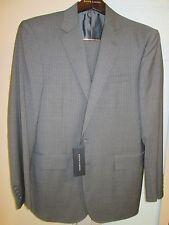 NWT Ralph Lauren Black Label Mens Striped Gray 100% Wool Suit 36R $1895