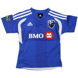 Adidas MLS Soccer Montreal Impact Toddler's Home Team Jersey, Blue