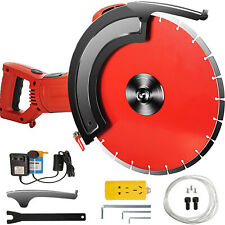 Vevor 14 Concrete Cut Off Saw Wet Dry Concrete Saw Cutter With Water Pump Amp Blade