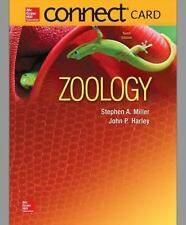 Connect 1 Semester Access Card for Zoology by Stephen Miller and John Harley (20