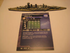 AXIS & ALLIES WAR AT SEA HMS Hood x1