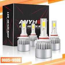 New listing 4X 9005 9006 Combo Cree Led Headlight Kit 120W 16000Lm High Low Beam 6000K White