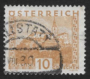 AUSTRIA: 1929 - LANDSCAPES 10g (HBX)