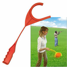 Hand Thrower Clay Pigeon Trap Target Shooting Launcher Shotgun Standard Easy use