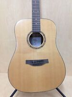 Martin Klema K100DS Solid Spruce Top Acoustic Guitar,Natural Matt+Free Gig Bag