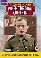 When The Boat Comes In - The Complete Collection Series 1-4    New    Fast  Post