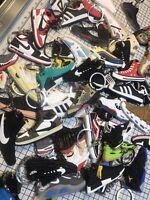 Sneakerhead Collectors 2D Rubber Sneaker Keychains Random 18 pieces No Repeats