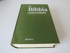LA BIBBIA CONCORDATA 1° EDIZ.1968 - A.MONDADORI EDITORE