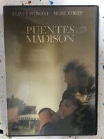 LOS PUENTES DE MADISON DVD CLINT EASTWOOD MERYL STREEP ESPAÑOL INGLES ALEMAN AM
