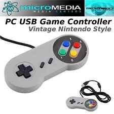 MediaVisionGAME Nintendo Style USB PC Gaming Controller- Windows Mac Linux