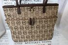 MICHAEL Michael Kors Kempton Medium Pocket Tote Bag - Black, Beige or Camel/Tan