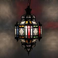 Lámpara marroquí árabe Colgante Linterna Oriental morisco h58cm