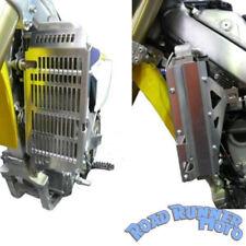 Force radiator guards silver Suzuki DRZ 400 DRZ400 2000 - 2013