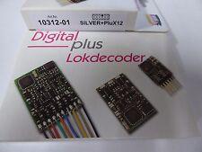 Lenz 10312-01 DCC Digitaldecoder Silber Silver+PluX12 , Neuware