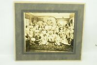 Large Antique GS Photograph Woman's Club Costumes Gagne's Studio Somerswoth NH