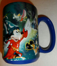 Rare Disney World Collectible Theme Parks 3-D Mug! Classic Characters Excellent