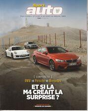 SPORT AUTO n°632 09/2014 BMW M4 NISSAN GT-R NISMO PEUGEOT RCZ -R EDITION COLLECT